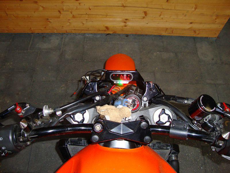 Motoscope verkabeln inkl Reserveleuchte