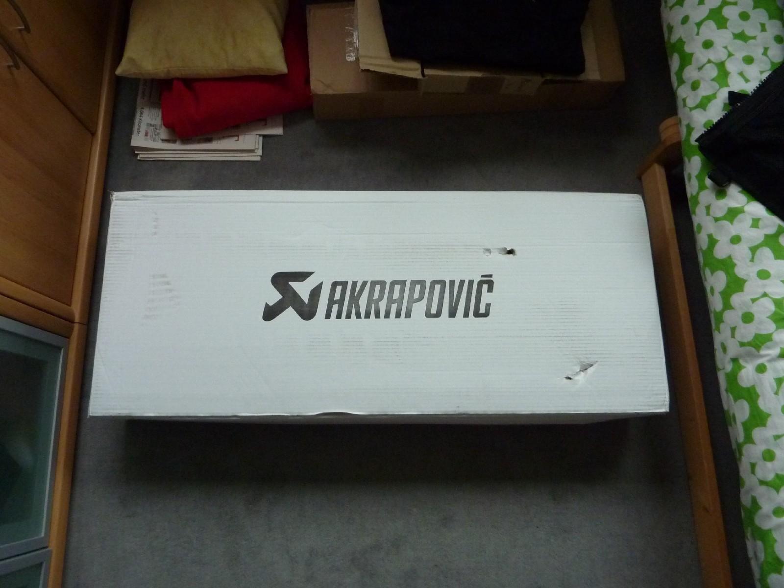 Akrapovic 4-2-2 komplett