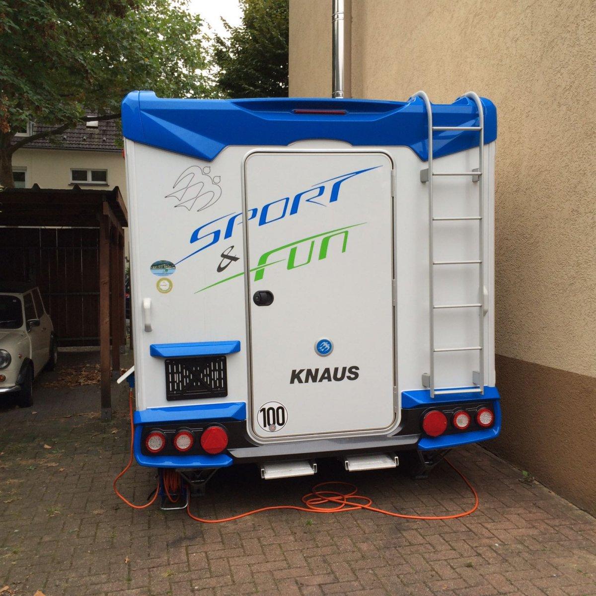motorradtransport im wohnwagen transport von motorrad und gep ck z1000. Black Bedroom Furniture Sets. Home Design Ideas