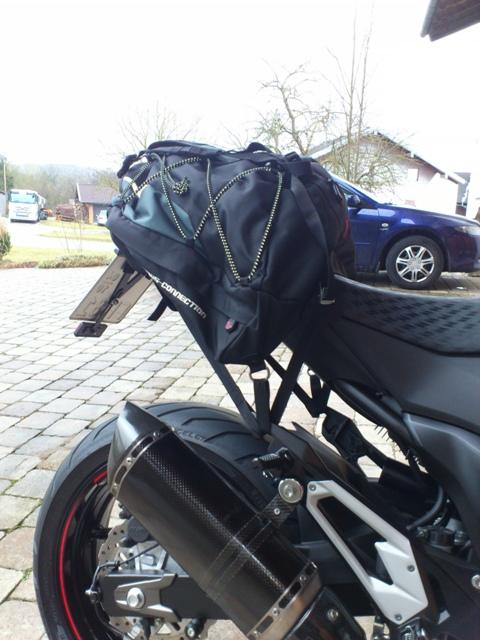 gep ckl sung z800 transport von motorrad und gep ck. Black Bedroom Furniture Sets. Home Design Ideas