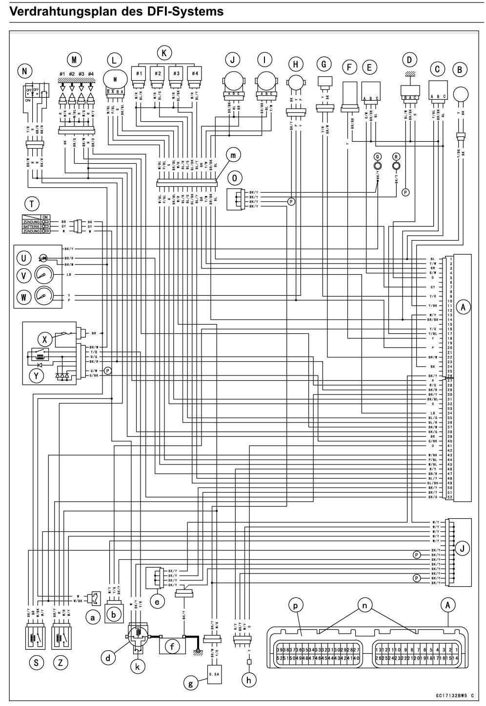 Tolle 2006 Kawasaki Schaltplan Galerie - Die Besten Elektrischen ...